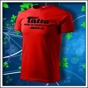 Tatra 603 - červené