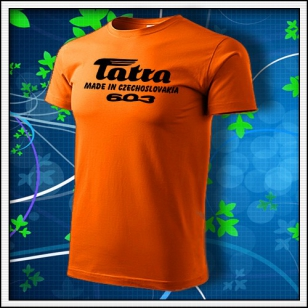 Tatra 603 - oranžové