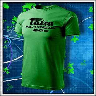 Tatra 603 - trávovozelené