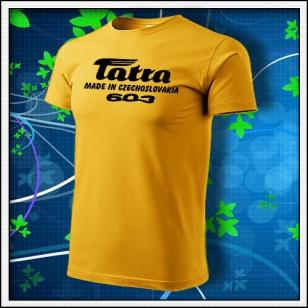 Tatra 603 - žlté