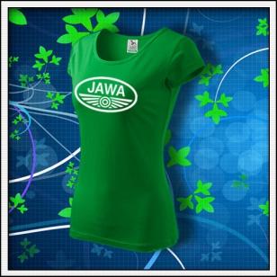 Jawa - dámske trávovozelené