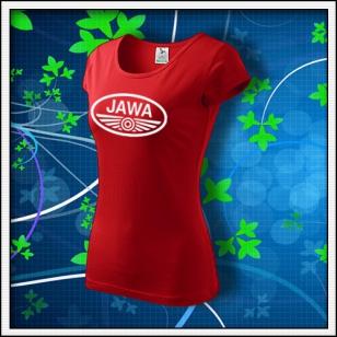 Jawa - dámske červené