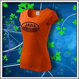 Jawa - dámske oranžové