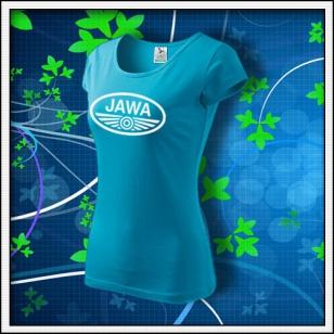 Jawa - dámske tyrkysové