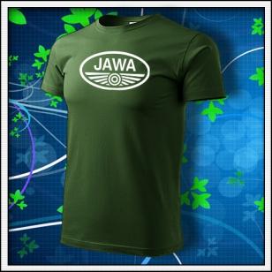 Jawa - fľaškovozelené