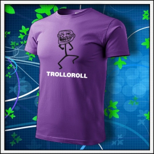 Meme Trolloroll - fialové