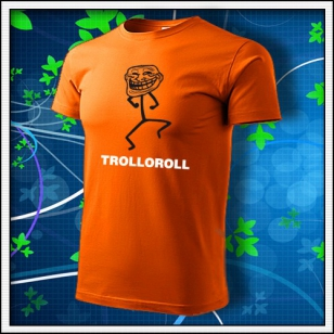 Meme Trolloroll - oranžové