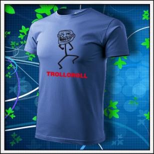 Meme Trolloroll - svetlomodré