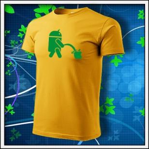 Android vs. Apple - žlté