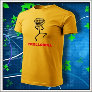 Meme Trolloroll - žlté
