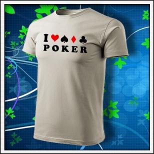 I Love Poker - ľadovosivé