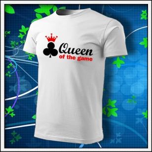 Queen of the Game - Poker - biele