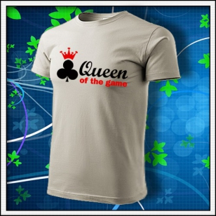 Queen of the Game - Poker - ľadovosivé