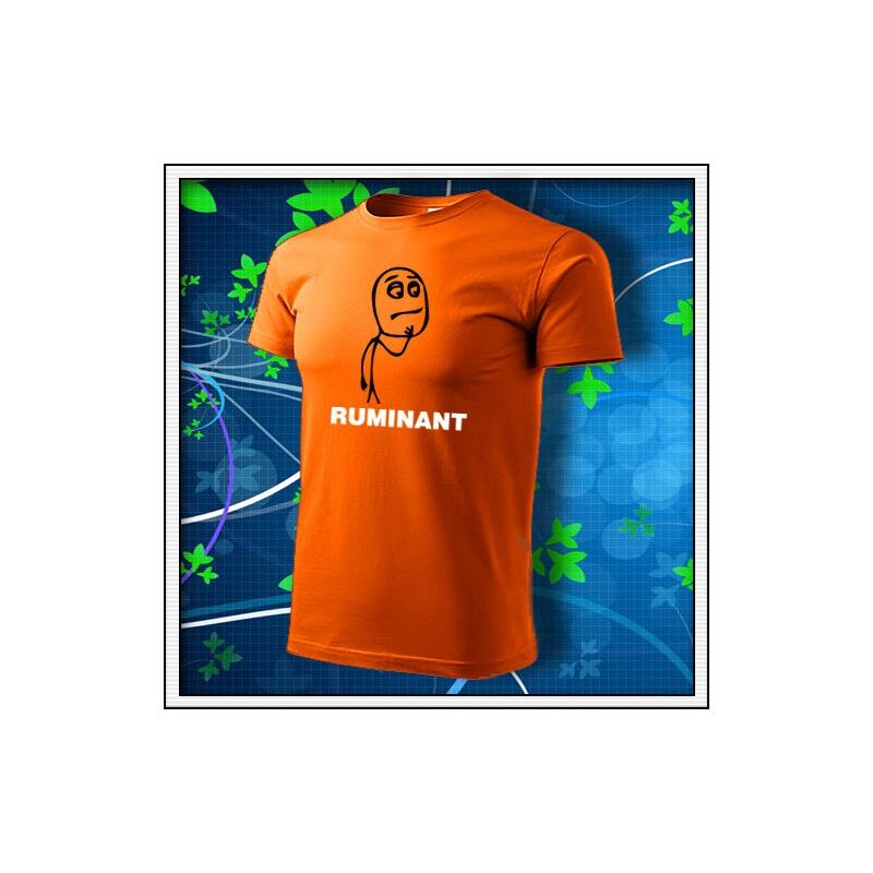 Meme Ruminant - oranžové