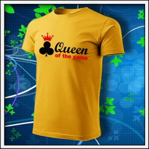 Queen of the Game - Poker - žlté