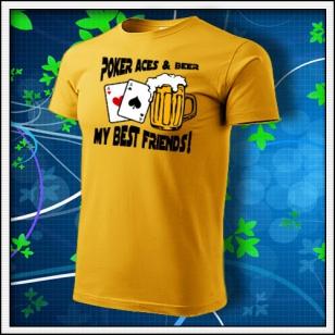 Poker Aces & Beer - žlté