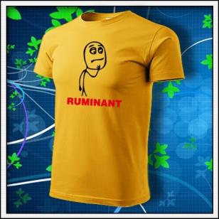Meme Ruminant - žlté