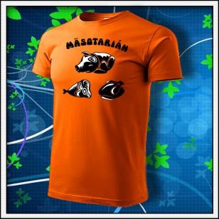 Mäsotarián - oranžové
