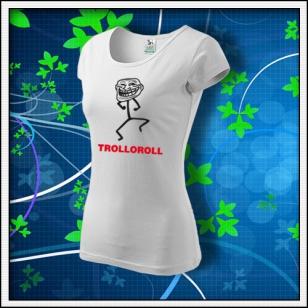 Meme Trolloroll - dámske biele