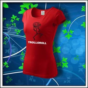 Meme Trolloroll - dámske červené