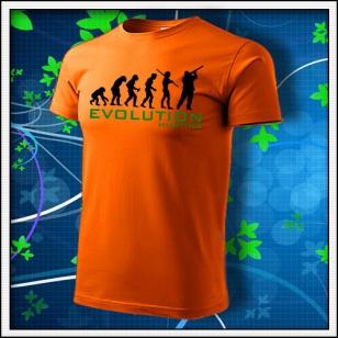 Evolution Hunting - oranžové