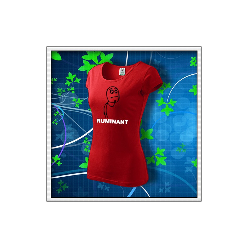 Meme Ruminant - dámske červené