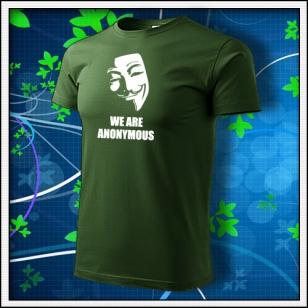 Anonymous 01 - fľaškovozelené