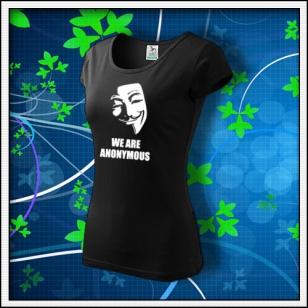 Anonymous 01 - dámske čierne
