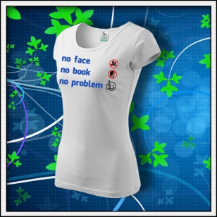 Anti Facebook - dámske biele