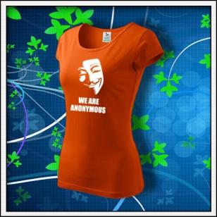 Anonymous 01 - dámske oranžové
