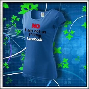 Anti Facebook 02 - dámske svetlomodré