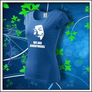 Anonymous 01 - dámske svetlomodré