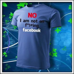 Anti Facebook 02 - svetlomodré