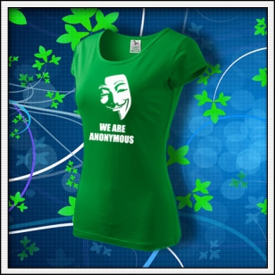 Anonymous 01 - dámske trávovozelené