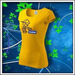 Anti Facebook 04 - dámske žlté