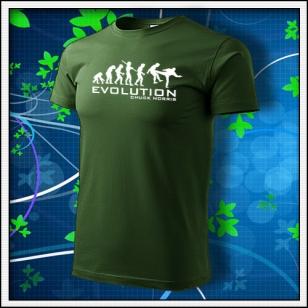 Evolution Chuck Norris - fľaškovozelené
