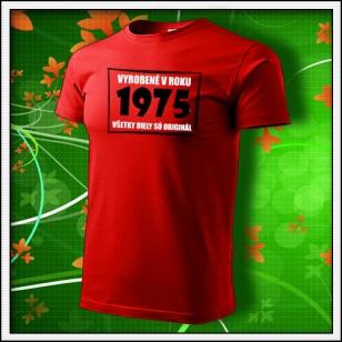 Vyrobené v roku - červené
