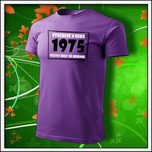 Vyrobené v roku - fialové