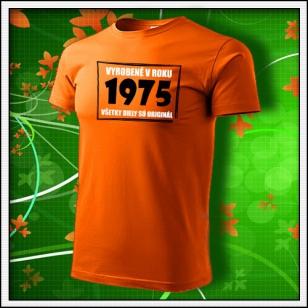 Vyrobené v roku - oranžové