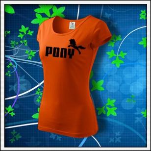 Pony - dámske oranžové