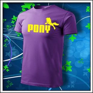 Pony - fialové