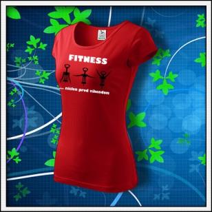 Fitness - dámske červené