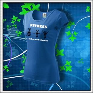 Fitness - dámske svetlomodré