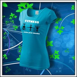 Fitness - dámske tyrkysové