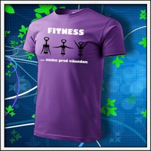 Fitness - fialové