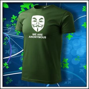 Anonymous 03 - fľaškovozelené