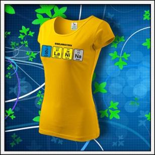 SLANINA - dámske žlté