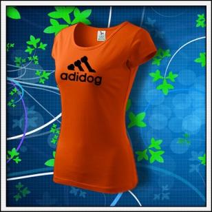 Adidog - dámske oranžové