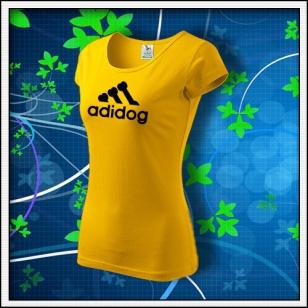 Adidog - dámske žlté
