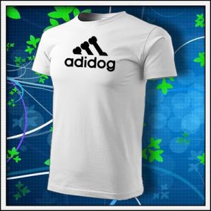 Adidog - biele